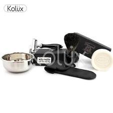 Classic Men's wet shaving kit badger Brush DE safety razor a complete package