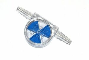 Fliessanzeiger Strömungsanzeiger blau SAN