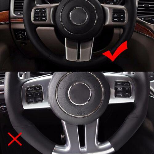 fit Jeep Wrangler Compass Patriot Grand Cherokee Inner Steering Wheel Cover Trim