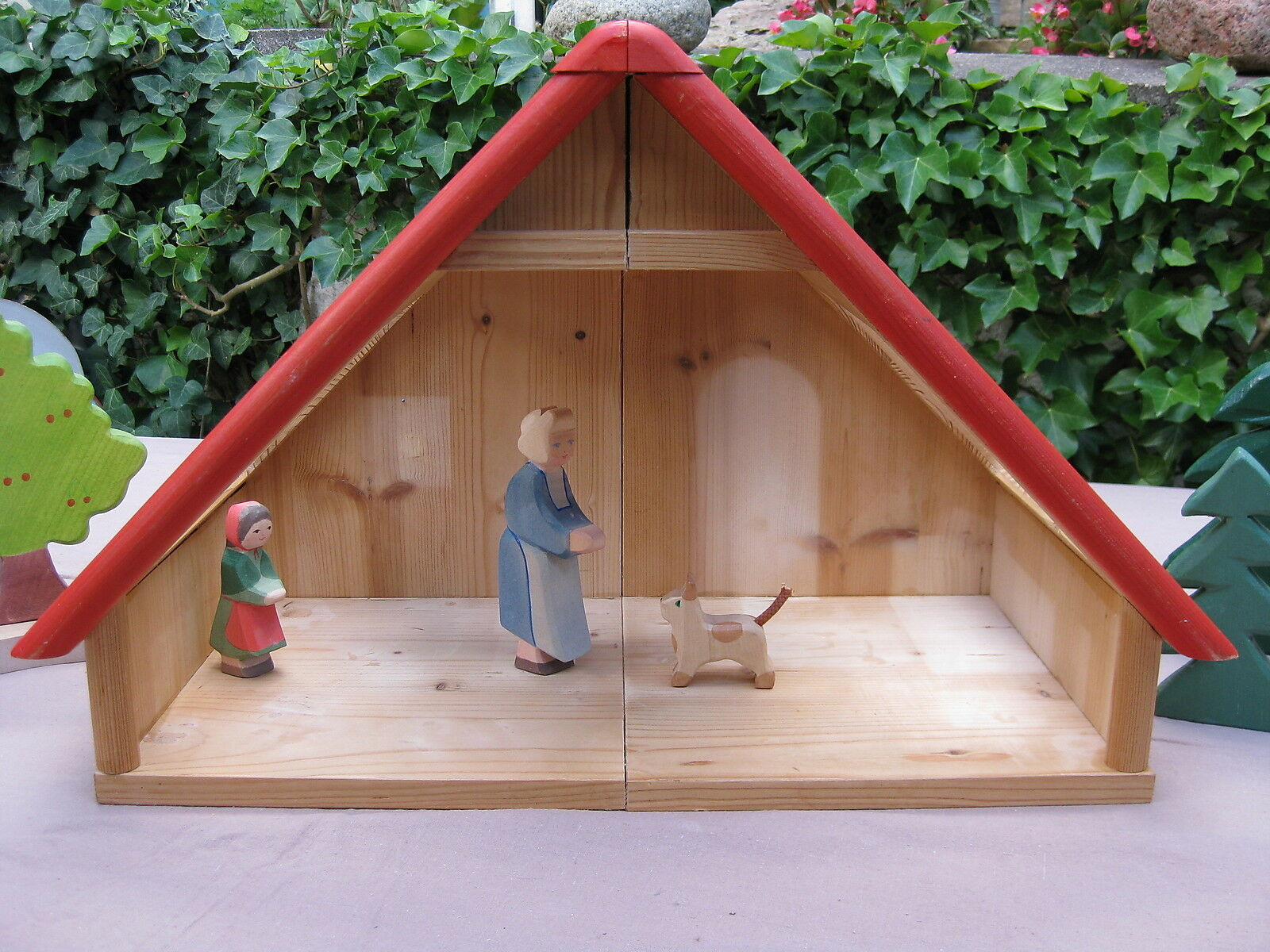 Puppenhaus Holz     BODO HENNIG - NIC   Dachgeschoss BAMBINO  nach Waldorf    Authentische Garantie