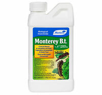 Monterey Garden B.t. 16 Oz Liquid Concentrate Caterpillar Worm Pest Control Omri