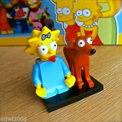 Santas Little Helper New Lego The Simpsons Minifigure