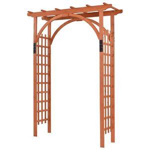 Image Is Loading Patio Outdoor Wooden Cedar Arbor Arch Pergola Trellis