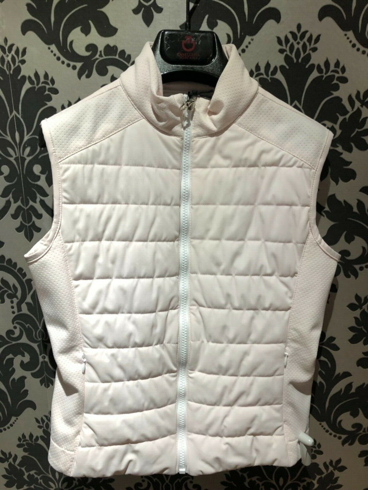 Cavalleria Toscana Perforated Jersey Quilted Vest AGE 8