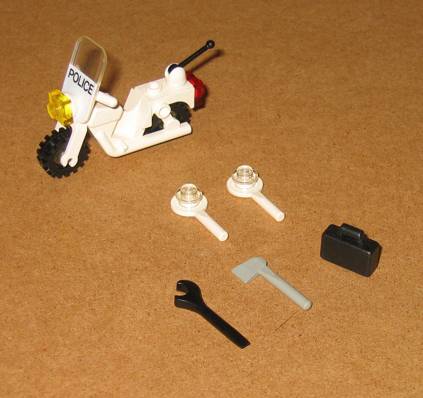 6309 LEGO Town Mini Figures 100% Complete NO Instructions Instructions Instructions EX COND 1988 6054a7