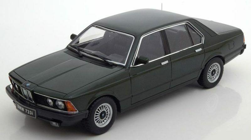 Bmw 733i E23 1977 Dark grön Metallic 1 18 Förlaga KK SCALE