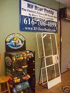 Rv Screen Door To Storm Door Conversion Kit Ebay