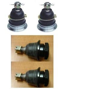 Front Upper /& Lower Wishbone Ball Joint Set For Nissan Navara D22 Pick Up 1998+