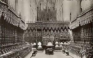 32-TARJETA-POSTAL-AUCH-La-catedral-de-El-coro