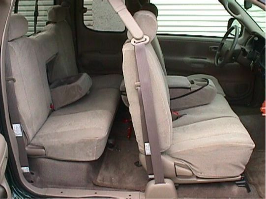 2000 2001 2002 2003 2004 Toyota Tundra Access CAB Bench SEAT Covers - Tan  Velour