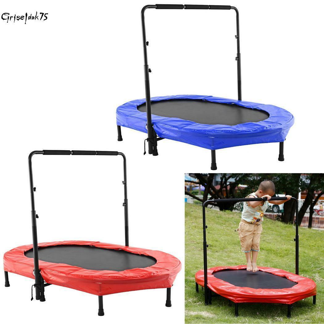 Fitness Trampolin Faltbar Kinder Erwachsenen Jumping Gartentrampolin bis 100kg