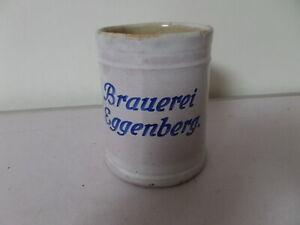 alter 0,5 L Bierkrug von Brauerei Eggenberg