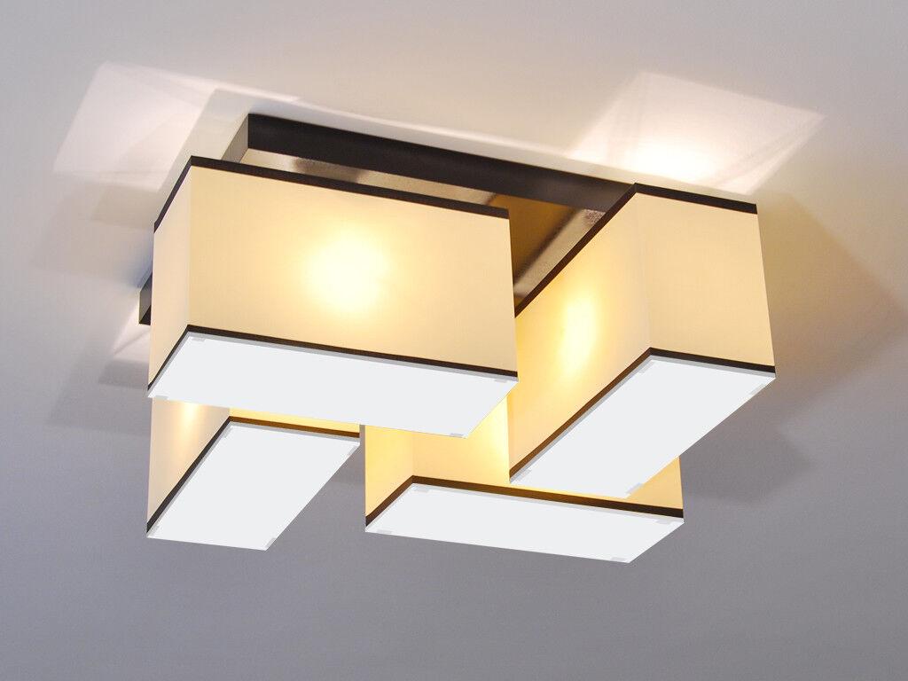 Plafoniera Per Soggiorno Bianco : Plafoniera lampada da soffitto blejls dw