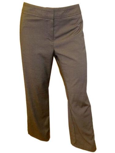 Pantaloni Su Misura Da Donna Taglia 14 16 18 20 Gamba 28 30 32 NUOVA L DONNA GRIGIO Mns STRT