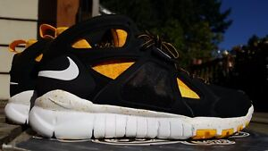 ae2e652e73bb Nike Huarache Free Shield DD Pittsburgh Steelers NFL Sample Flyknit ...
