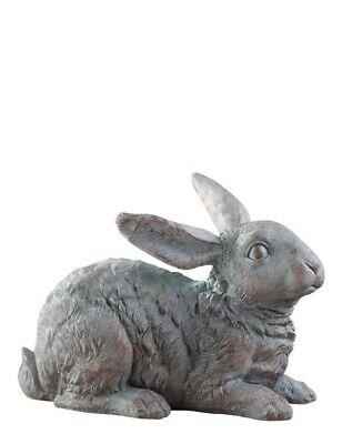 Victorian Trading Co Marcel The Blue Hare Bunny Rabbit Garden Figure