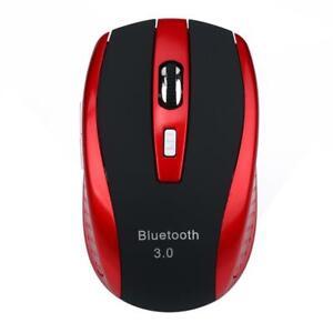 Portable Bluetooth 3.0 haute vitesse de souris sans fil souris optique 2400