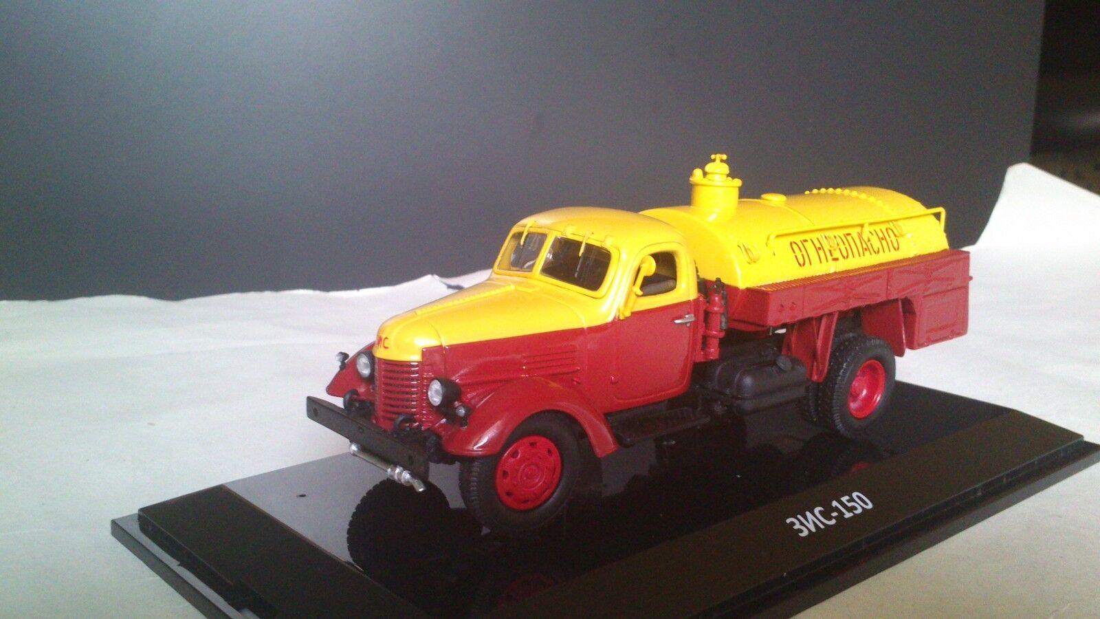 1/43 Modelos Dip ZIS-150 Tanque Camión Pritsche Camion