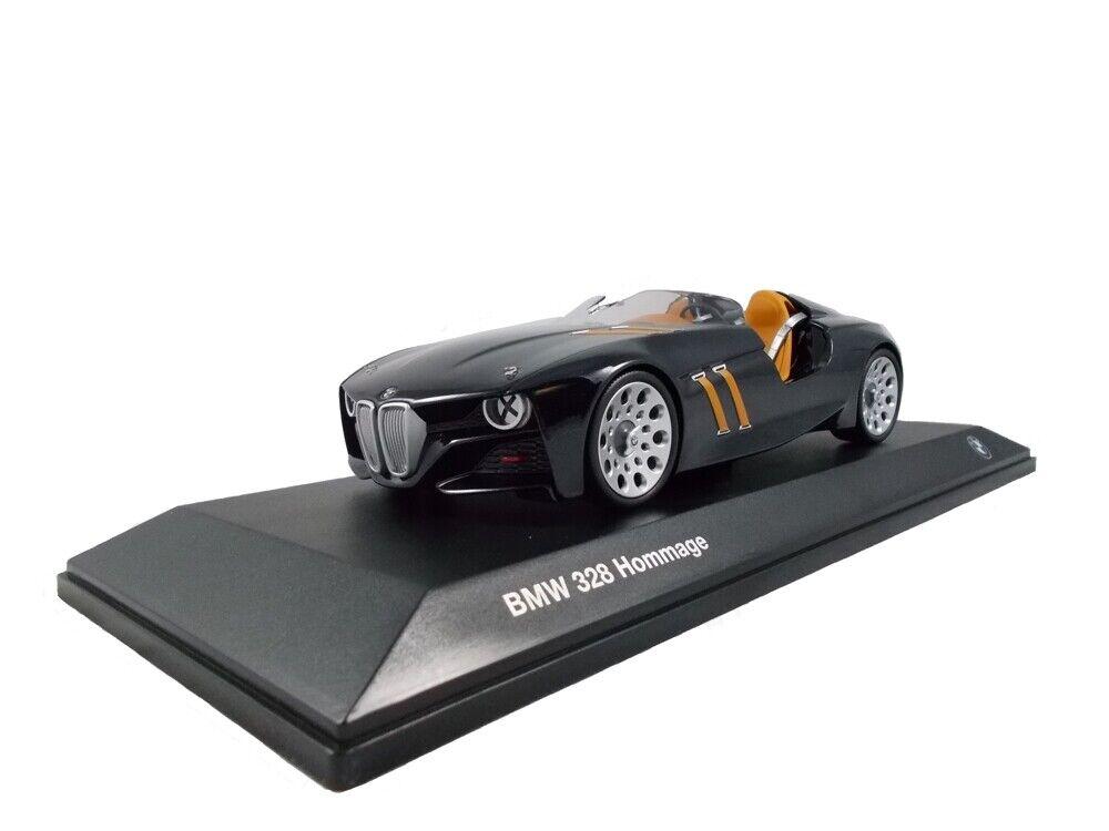 Original bmw 328 homenaje Collection maqueta de coche en miniatura a escala 1 18 negro