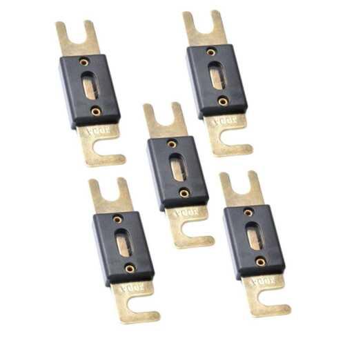 5x ANL Fusibles de Audio Protector de Sobrecarga 300 Amp 300A para Coche