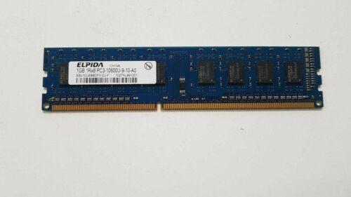 1GB 1Rx8 PC3-10600U-9-10-a0 DDR3 Memory Module Elphida Samsung Kingston Hynix