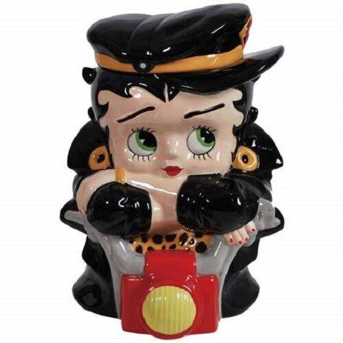 Biker Betty Boop Cookie Jar Collectible Home Decor - Ceramic Westland