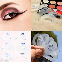 12Pcs Eyeliner Mould Eyeshadow Smokey Cat Quick Eye Women Makeup Useful Tools
