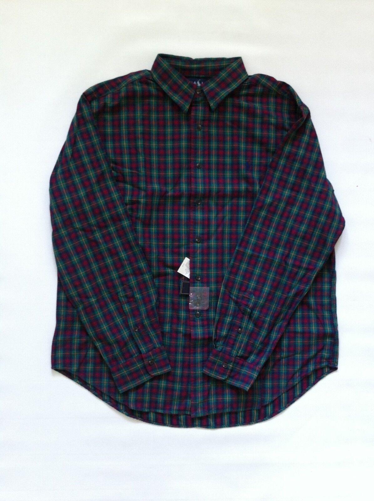 BNWT RALPH LAUREN Classic Fit Button Front Shirt Sz XL