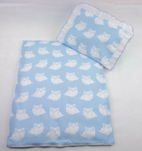 Füllung 4 tlg Kissen Set Bezug für Kinderwagen AUSVERKAUF Bettwäsche Decke