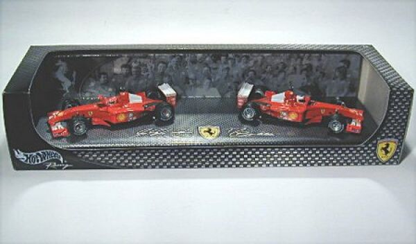 Ferrari 2001 Designer Master, Driver M.SCHUMACHER R.barrichello