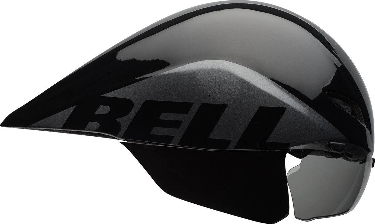 Bell Javelin Triathlon Zeitfahrhelm schwarz grau 2019
