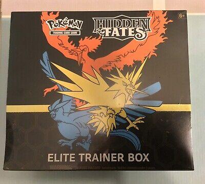 HIDDEN FATES Booster Lot BoxFACTORY SEALED 36 Packs no box Pokemon TCG