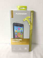 Extreme Impact Screen Protector ZTE ZMAX PRO By Pure Gear with Tray Metro PCS