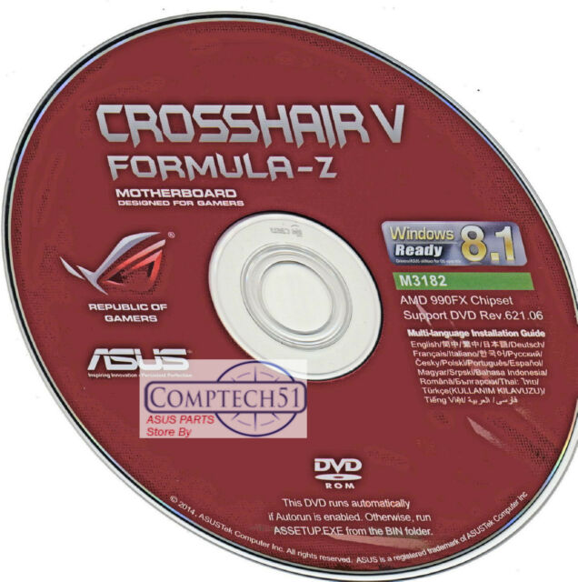 asus crosshair v formula-z lan driver download