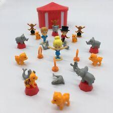 Lot de 10 TEENY TINY Mini Farm /& Mini cirque magic Time