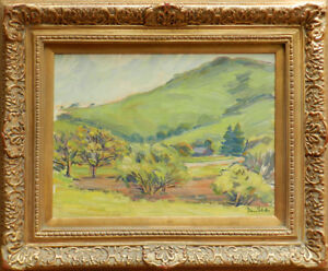 Donna-Schuster-1883-1953-Original-oil-painting-18-x-24-inches-great-landscape