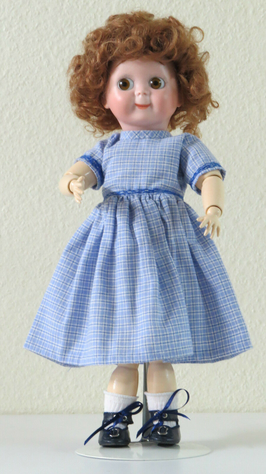 solo cómpralo JDK  221 221 221   :B  35 cm   14 Inch    Poupée Ancienne  Reproduction Antique doll  servicio honesto
