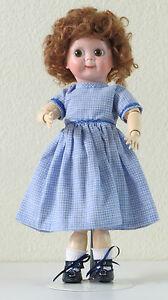 Jdk 221 Ref :b 35 Cm 14 Inch Poupée Ancienne Reproduction Antique Doll