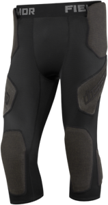 Icon Mens Black Field Armor Textile Motorcycle Riding Racing Compression Pants