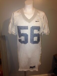 Nike Virginia Cavaliers #56 Team Issued White Practice Football Jersey XL