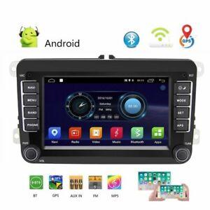 2DIN-Autoradio-Android-8-1-GPS-Navi-Bluetooth-Fuer-VW-GOLF-5-PASSAT-POLO-Caddy