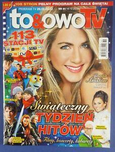 JENNIFER ANISTON mag.FRONT cover Poland Martin Freeman,Matt Damon,Snow Queen - europe, Polska - Zwroty są przyjmowane - europe, Polska
