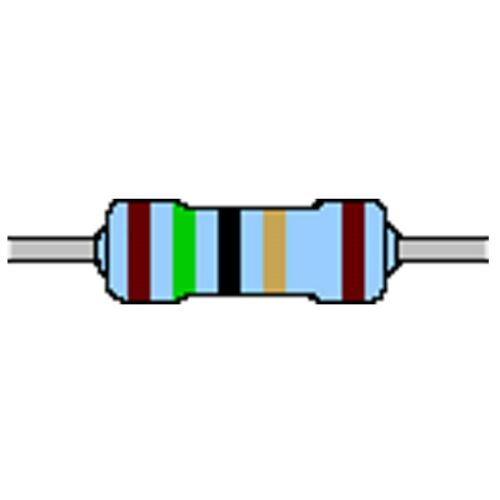 Metallschicht-Widerstand 15 Ohm 1/% 0,4W Bauform 0204 gegurtet