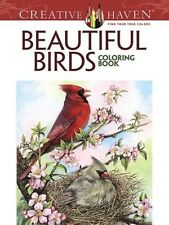 Adult Coloring Creative Haven Beautiful Birds Book By Dot Barlowe 2015 Paperback