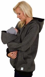 Umstandsjacke mit babyeinsatz