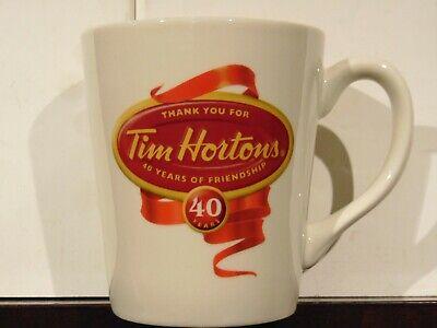 2004 Limited Edition Coffee Cup #004 Tim Hortons 40th Anniversary Mug