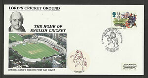 GB 1994 SUMMERTIME LORD'S CRICKET GROUND FDC Kent Pictorial Postmark