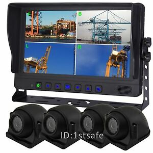 """VEISE 9/""""Rear Side View Backup One-Camera System for Ag Harvester Seeder Tractor"""