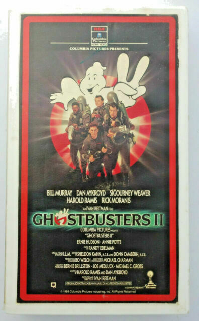 Ghostbusters 2 Vhs For Sale Online Ebay
