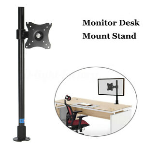 Single-Computer-Monitor-Arm-Mount-Desk-Stand-14-27-LCD-LED-Screen-TV